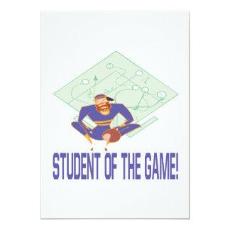 """Estudiante de The Game Invitación 5"""" X 7"""""""
