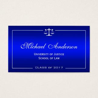 Estudiante del colegio de abogados - pendiente tarjetas de visita