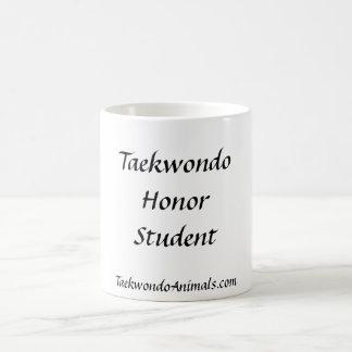 Estudiante del honor tazas