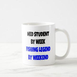 Estudiante del MED de la leyenda de la pesca Taza