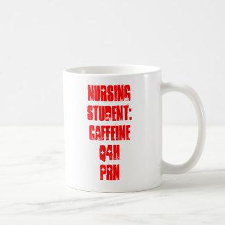 Estudiante del oficio de enfermera Cafeína Q4H PR Tazas De Café