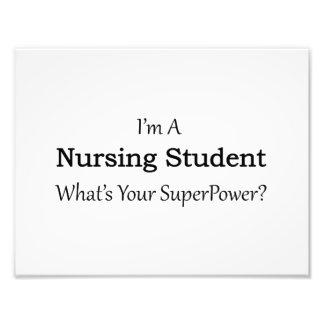 Estudiante del oficio de enfermera fotografía