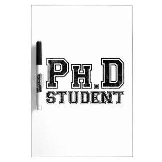 Estudiante del Ph D Tableros Blancos