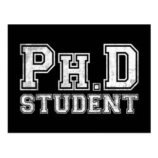 Estudiante del Ph.D Postal