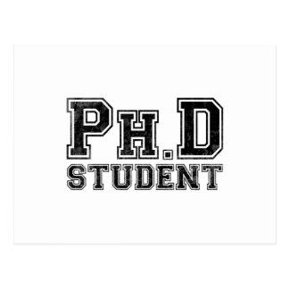 Estudiante del Ph.D Tarjetas Postales