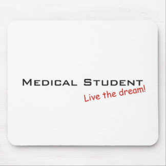 Estudiante ideal/de medicina alfombrilla de raton