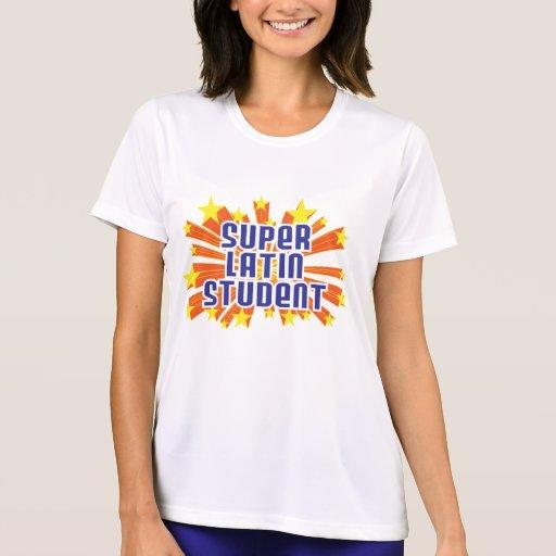 Estudiante latino estupendo t-shirts