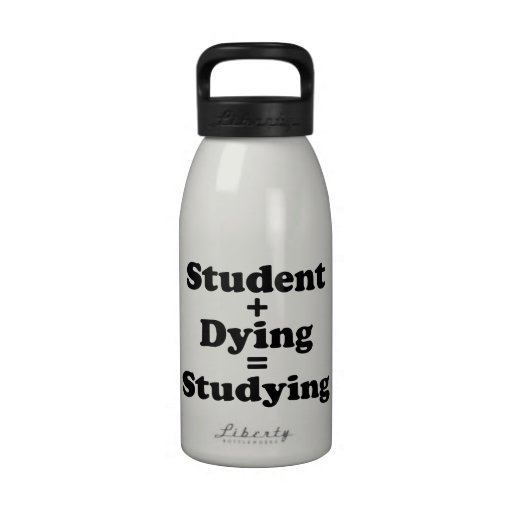 Estudiante + Muerte = el estudiar Botallas De Agua