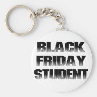 Estudiante negro de viernes llavero