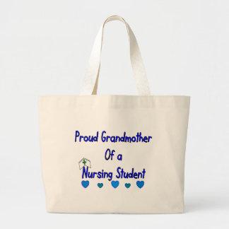 Estudiante orgulloso del oficio de enfermera de Gr Bolsa Tela Grande