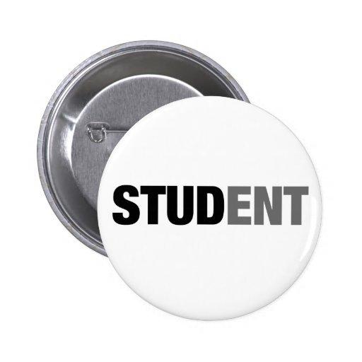 Estudiante Pin Redondo 5 Cm