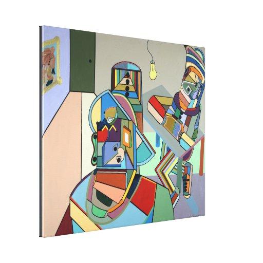 """""""Estudiante"""" por Ruchell Alexander Lienzo Envuelto Para Galerías"""
