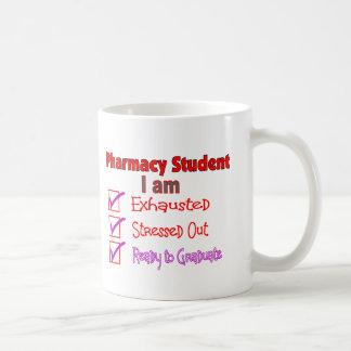"""Estudiante """"subrayado,"""" regalos agotados de la far tazas"""