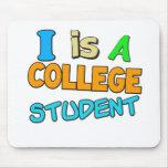 Estudiante universitario tapetes de ratón