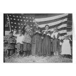 Estudiantes Cincinnati 1918 de la escuela del St.  Felicitaciones