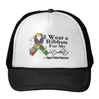 Estudiantes - cinta del autismo gorras de camionero