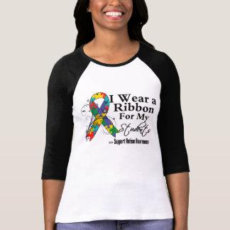 Estudiantes - cinta del autismo t shirt