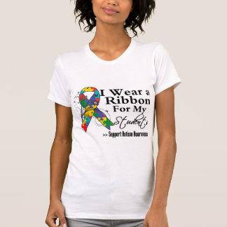 Estudiantes - cinta del autismo t shirts