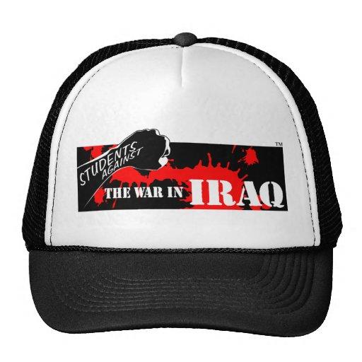Estudiantes contra la guerra en Iraq Gorras