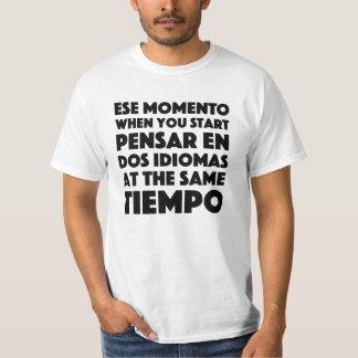Estudiantes de la camiseta divertida de los remeras