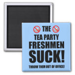 estudiantes de primer año de la fiesta del té iman de frigorífico