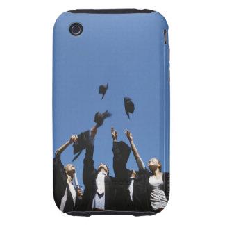 Estudiantes de tercer ciclo que lanzan tableros iPhone 3 tough cobertura