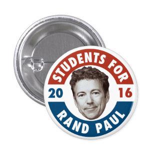 Estudiantes para el rand Paul - botón de la campañ Pin