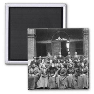 Estudiantes universitarios de Fisk: 1899 Imán Cuadrado
