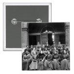 Estudiantes universitarios de Fisk: 1899 Pin Cuadrada 5 Cm