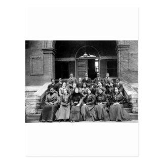 Estudiantes universitarios de Fisk: 1899 Tarjeta Postal