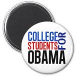 Estudiantes universitarios para Obama Iman De Nevera