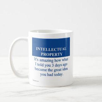 Estudiar la ley de la propiedad intelectual (3) taza