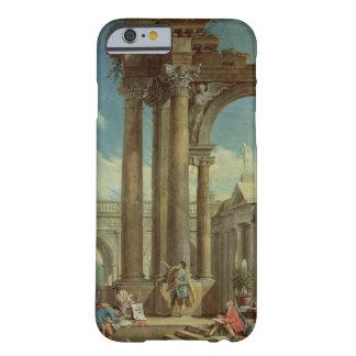 Estudiar perspectiva entre las ruinas romanas funda de iPhone 6 barely there