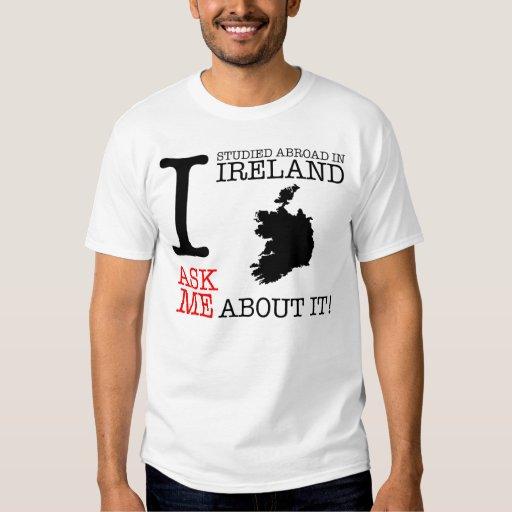 ¡Estudié en el extranjero en Irlanda! Playeras