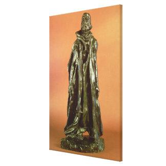 Estudie para Eustache de St Pierre, del Burgher Impresión En Lona