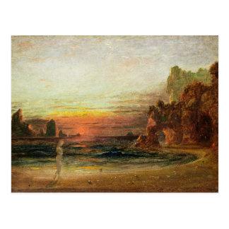 """Estudie para la """"gruta del Calypso"""", c.1843 Tarjetas Postales"""