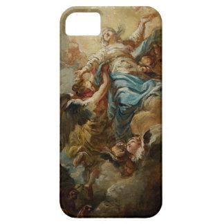 Estudie para la suposición de la Virgen, c.1760 2 iPhone 5 Case-Mate Protectores