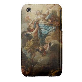 Estudie para la suposición de la Virgen, c.1760 2 Case-Mate iPhone 3 Cárcasa