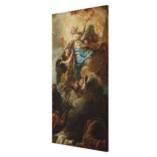 Estudie para la suposición de la Virgen, c.1760 2 Impresiones De Lienzo