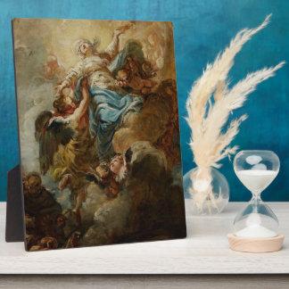 Estudie para la suposición de la Virgen, c.1760 2 Placa