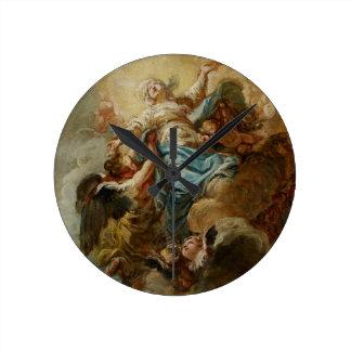 Estudie para la suposición de la Virgen, c.1760 2 Reloj
