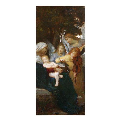Estudie para los anges aux. de Vierge de Guillermo Tarjetas Publicitarias A Todo Color