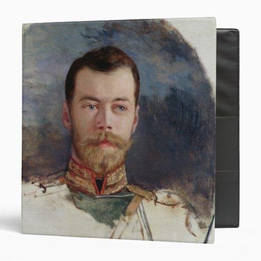 Estudie para un retrato del Tsar Nicolás II 1898