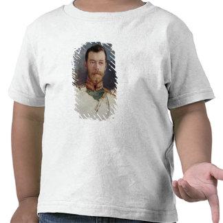 Estudie para un retrato del Tsar Nicolás II 1898 Camiseta