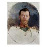 Estudie para un retrato del Tsar Nicolás II 1898 Postal