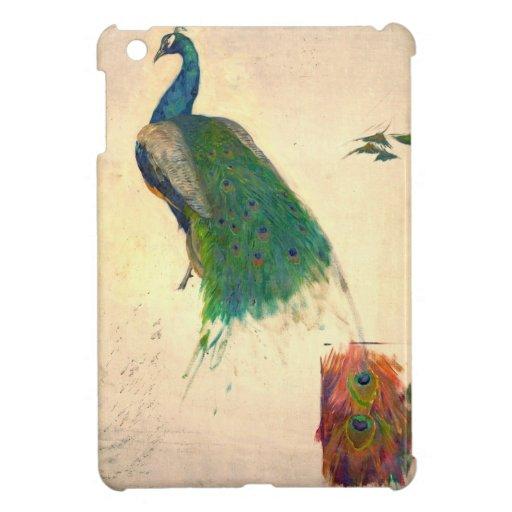 Estudio 1896 del pavo real iPad mini carcasas