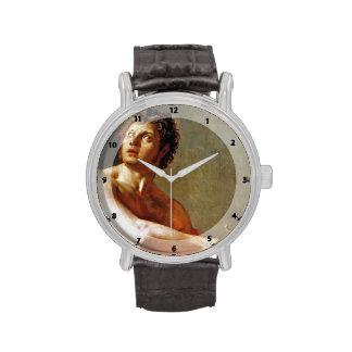 Estudio académico de Jean Ingres- de un Torse masc Reloj