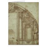 Estudio arquitectónico tarjeta de felicitación