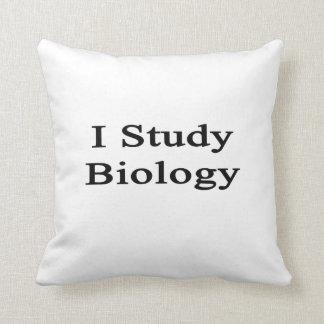 Estudio biología cojines