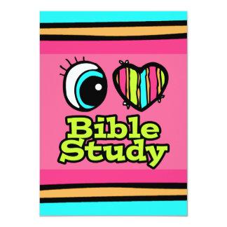 """Estudio brillante de la biblia del amor del invitación 4.5"""" x 6.25"""""""